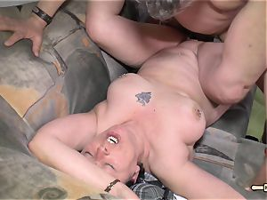 Hausfrau Ficken - torrid bang-out with unexperienced German housewife