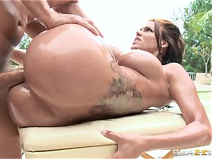 Peta Jensen loves an oily session outdoors