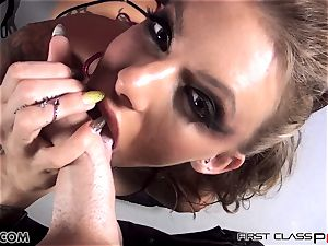 first Class pov - Juelz take a ample weenie in her hatch