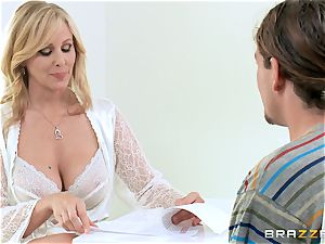 Julia Ann gives her some memorable sex lessons