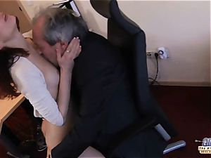 I am a secretary seducing my manager at work office