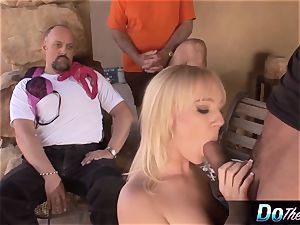 supah jaw-dropping light-haired wifey torn up by porn fellow