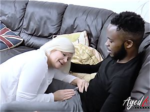 AgedLovE Lacey Starr XXL Size grannie hardcore intercourse