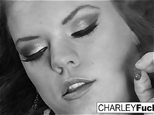 Charley and her gf smoke and have a tiny fun
