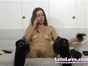I jerk in lots of different types of gloves