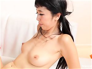 japanese hotty Marica Hase deep throats and plows a bbc