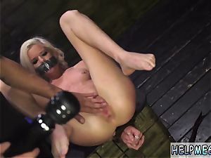 extreme vacuum pumping anal and penalize nubile immense pipe Halle Von is in town on vacation