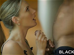 BLACKED hot wife cuckolds husband with black neighbor