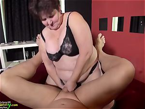bbw and slim grandmother gone sexual compilation