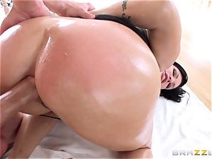 Shay fox is lubed up and ravaged in her mummy arse