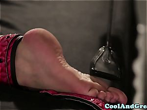uber-sexy Maddy O'Reilly gets her ginger cooter railed