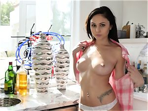Ariana Marie enjoys beef whistle In Her honeypot