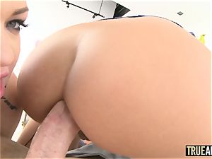 TRUEANAL assfuck 3some with Adriana and Karmen