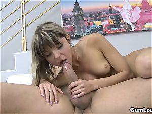 nasty Gina Gerson gets butt-fucked with his humungous man-meat
