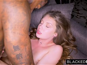 BLACKEDRAW nubile Gets predominated By big black cock Before Going Home