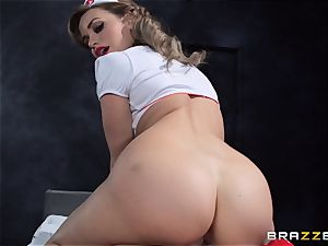 dream nurse Mia Malkova gets her patient through his operation