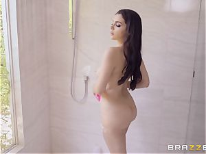 Valentina Nappi poked in the douche