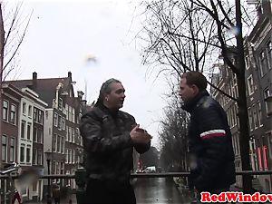 Pussynailed dutch escort spoiling tourist