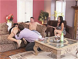 group lovemaking and Hangman with ultra-cute couples 1