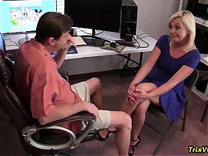 boinking the super-hot secretary