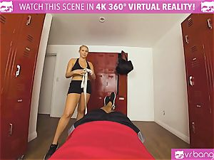 VRBangers.com sizzling honey sweat-soaked pulverizing Her Boxing Coach