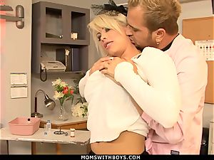 milf Brooke Haven Flirts And boinks The school Nurse