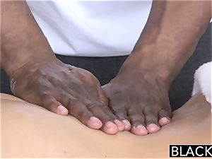 BLACKED red-hot Southern blond Takes immense black rod