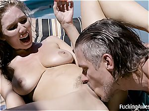 Lena Paul smashes Her Brother's buddy