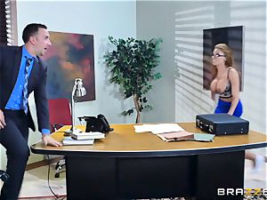 Britney Amber getting fucked in her donk and cootchie