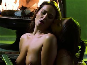 Elexis Monroe seduced by scorching stepdaughter Abella Danger