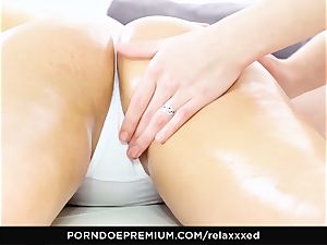 RELAXXXED - insatiable Luna Rivel enjoys lezzie rectal have fun