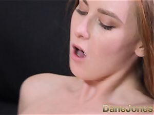 Dane Jones steaming Czech red-haired bj's knob and gets boned