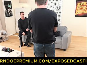 exposed audition - Coco de Mal humped in super-fucking-hot audition