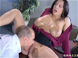 luscious ginormous titted stunner Lylith Lavey getting poked