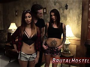 two naked teens and euro fake penis excited young tourists Felicity Feline and Jade Jantzen are