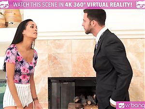 VR PORN-Caught my wife tear up my boss