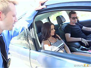 Keisha Grey getting nailed via the car