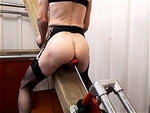 RachelSexyMaid - 13 - basement standing ejaculation