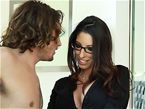 Taylor Reed humps her boy with Dava Foxx