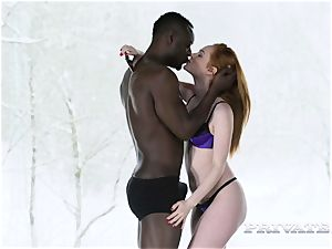 Ella Hughes prefers interracial activity