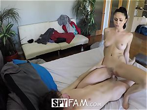 SpyFam Step step-sister Ariana Marie humps step brother