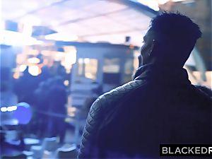 BLACKEDRAW kinky Model Meets bbc and Gets predominated