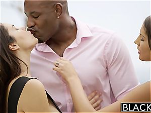 August Ames and Valentina Nappi share bbc