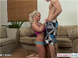 insatiable Kortney Kane wants to sate all the lollipop she can