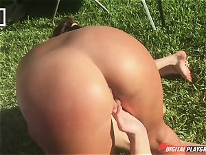 lezzy fuck-fest with feminist Haley Reed and naughty housewives