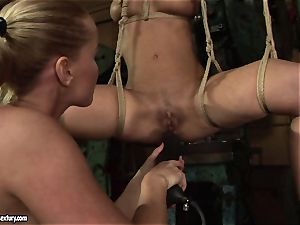 Kathia Nobili enjoy fuckin' the super-hot damsel with faux-cock