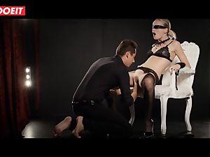 Emma had her fantasy come true in obscene intercourse escapade