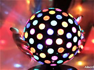 wonderful fat jugged disco ball honey