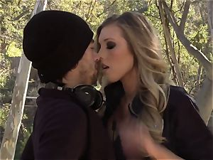 huge-chested cops in patrol! new reality pornography show with cool police lady