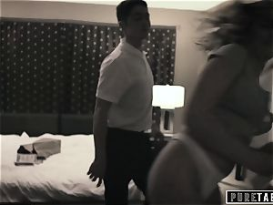 pure TABOO Tricking Momma's guy StepBro into boinking!